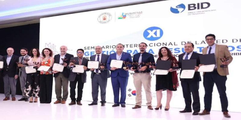 La Secretaría de Gestión Pública y Planeamiento fue premiada en Honduras