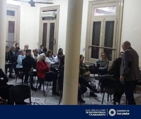 1er Encuentro en el IPAP con las ONGs  de la provincia