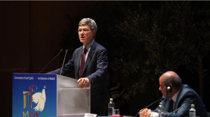 Conferencia de Jeffrey Sachs: